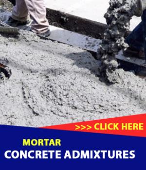 Concrete Admixtures/Mortar Admixtures